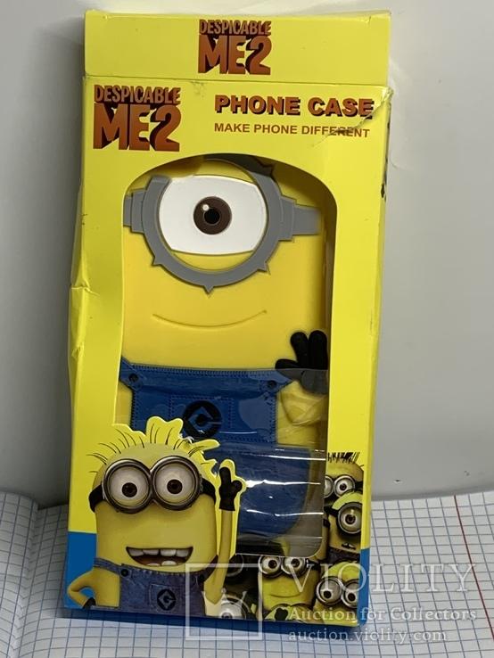 Селиконовый чехол для телефона, фото №2