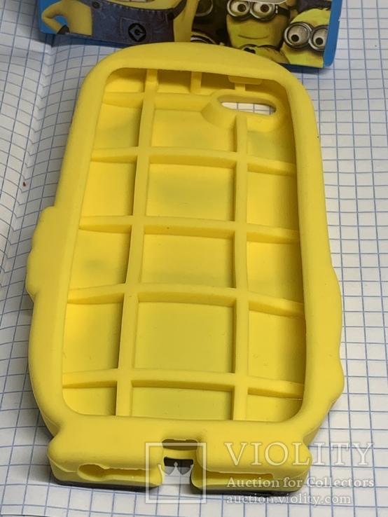 Селиконовый чехол для телефона, фото №4