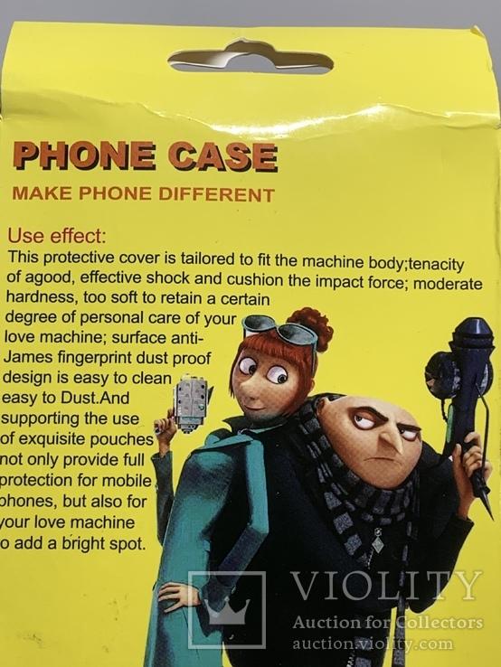 Селиконовый чехол для телефона, фото №6