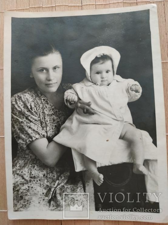 Мама с ребенком мода 40-е, фото №2
