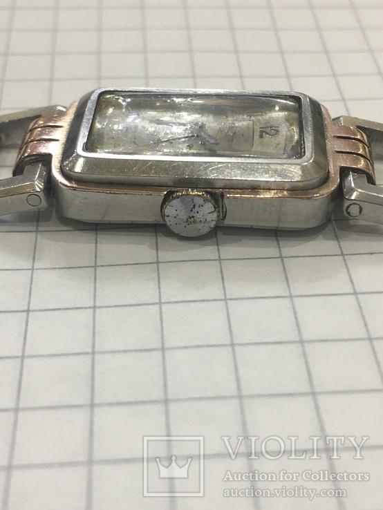 Часы женские Festa с золотой пластиной, фото №7