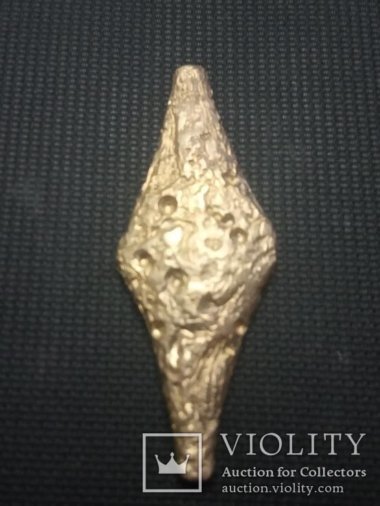 1 грн Черниговского типа из бронзы миникопия, фото №4