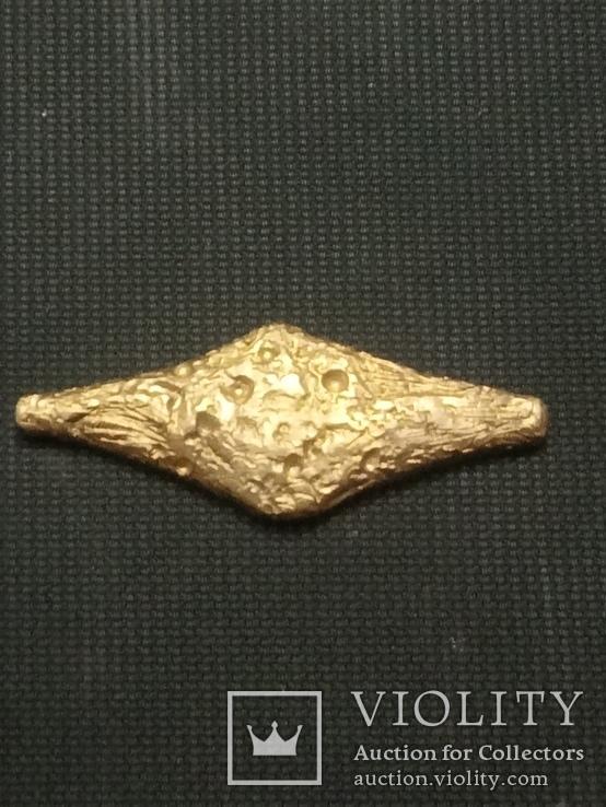 1 грн Черниговского типа из бронзы миникопия, фото №7