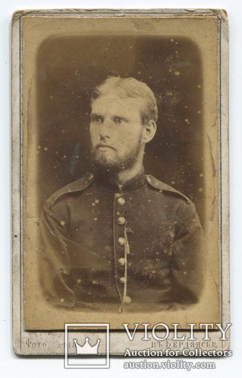 Бердянск. Солдат. 1870-е годы.