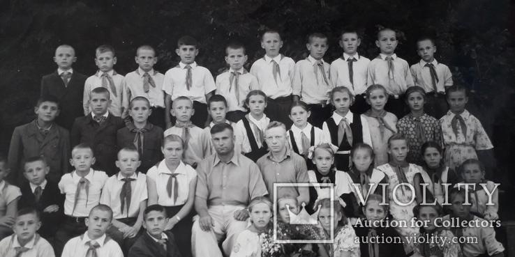 Детская школьная фотография 1950-е годы (24*18), фото №4
