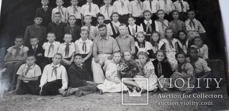 Детская школьная фотография 1950-е годы (24*18), фото №5