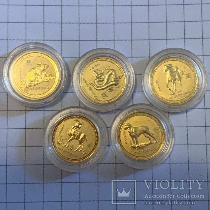 5 долларов, Австралия, 1996, 2001, 2002, 2003, 2006