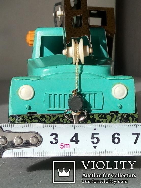 Игрушка автокран ГАЗ 53. 70-80х годов., фото №4