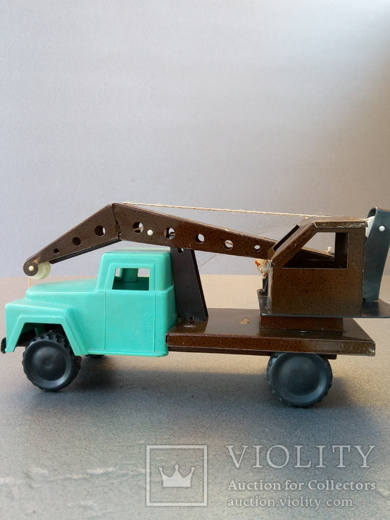 Игрушка автокран ГАЗ 53. 70-80х годов., фото №2