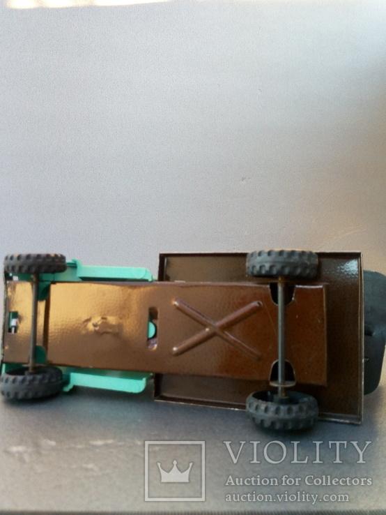 Игрушка автокран ГАЗ 53. 70-80х годов., фото №8
