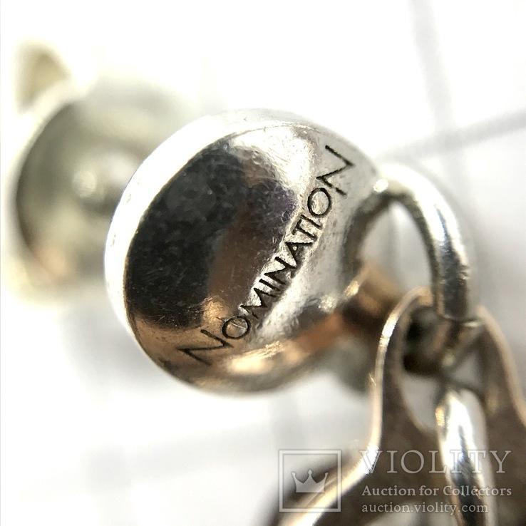 Серьги серебро, фото №6