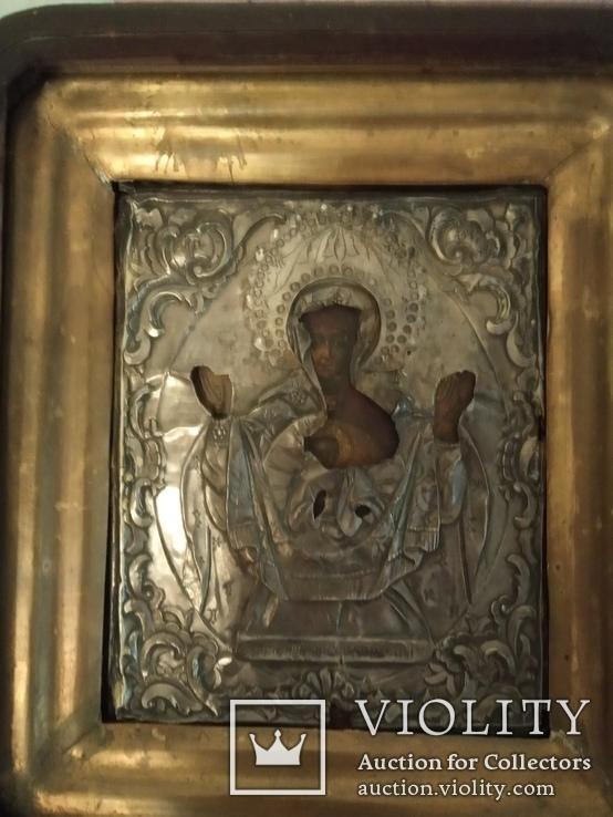 Икона Матерь Божья Знамение, фото №3