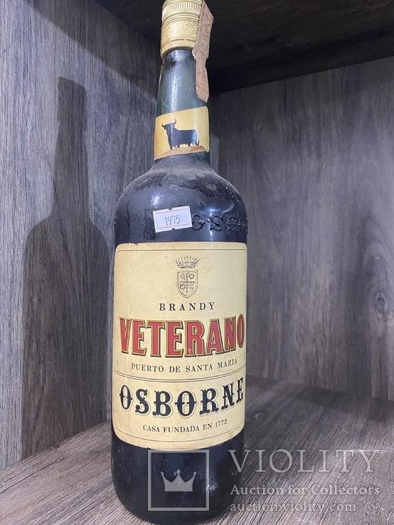 Хересный бренди  Veterano  1.0 л. 1977 г.