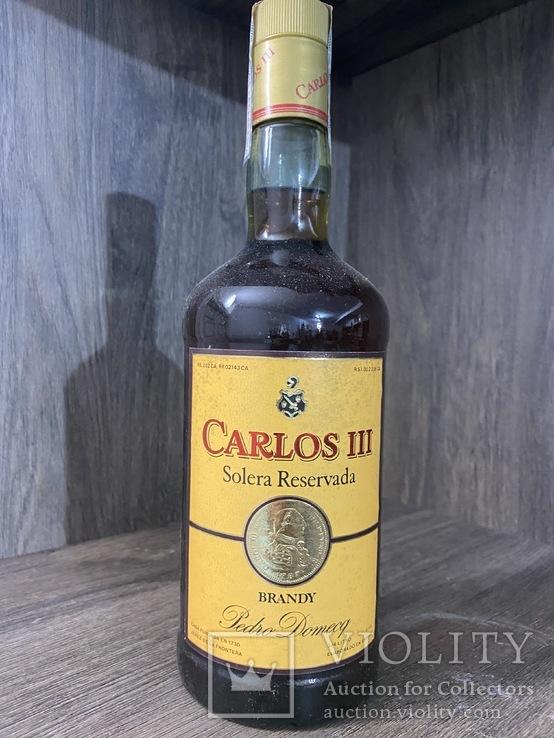 Хересный бренди Carlos 3 1990-е