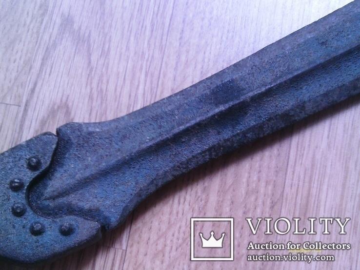 Бронзовий меч гальштатської культури, типу наує. Репліка., фото №4