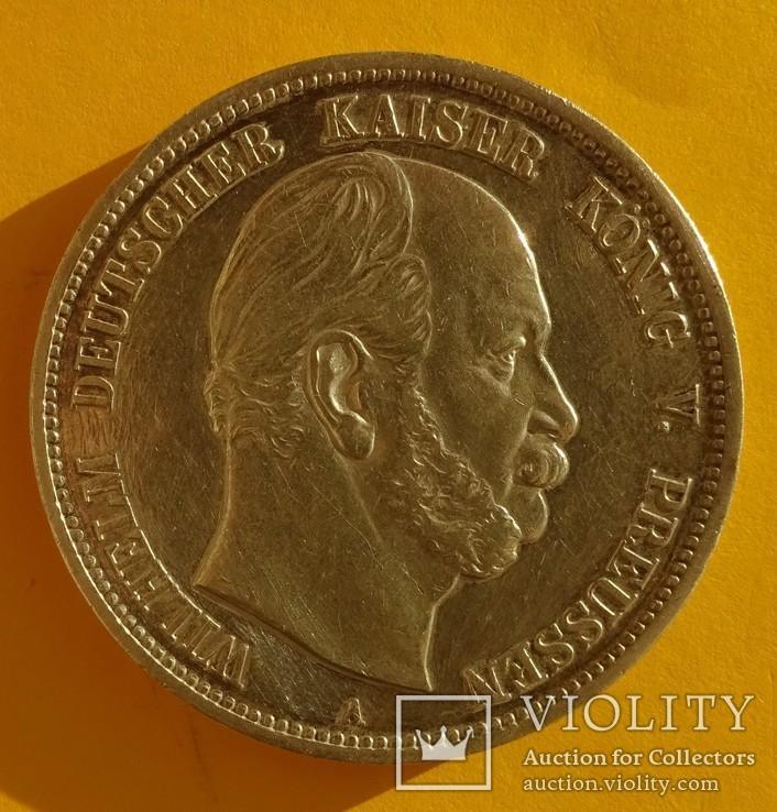 5 марок, Пруссия, 1874 год., фото №4