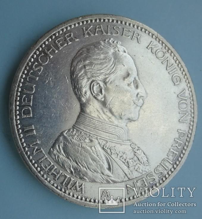 5 марок, Пруссия, 1913 год,, фото №2