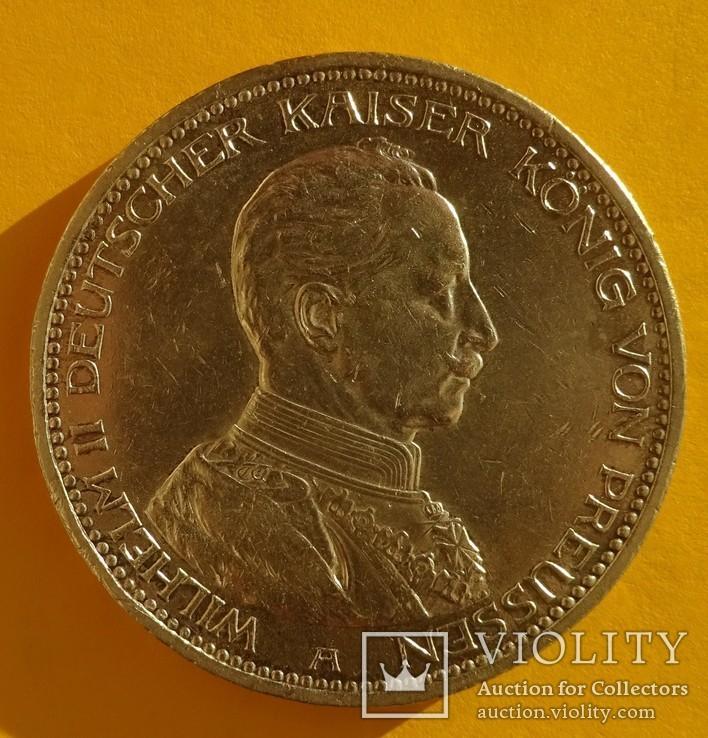 5 марок, Пруссия, 1913 год,, фото №3