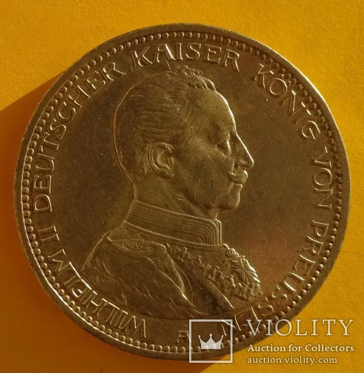 5 марок, Пруссия, 1914 год., фото №4