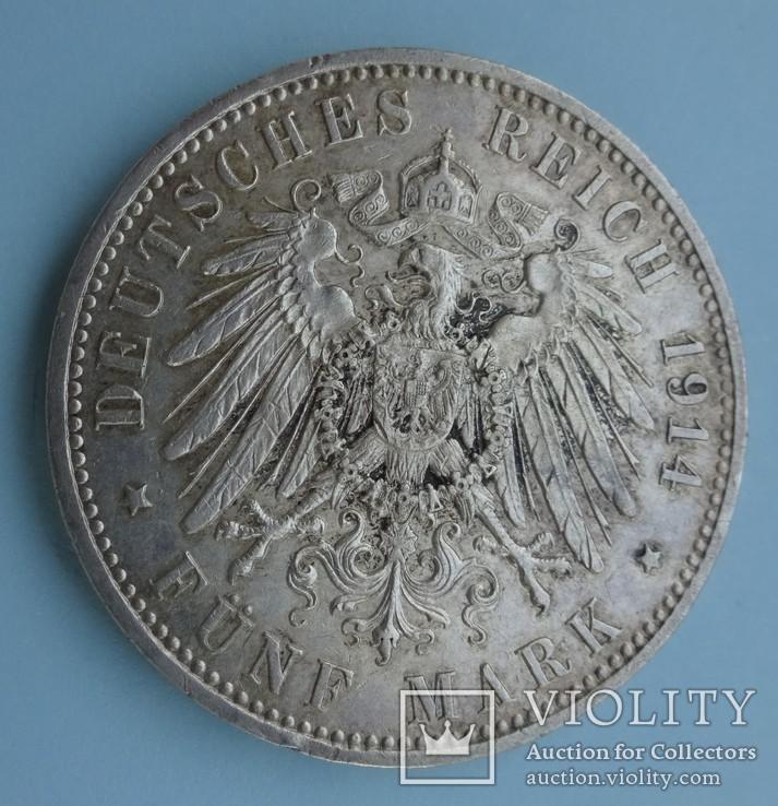 5 марок, Пруссия, 1914 год., фото №6