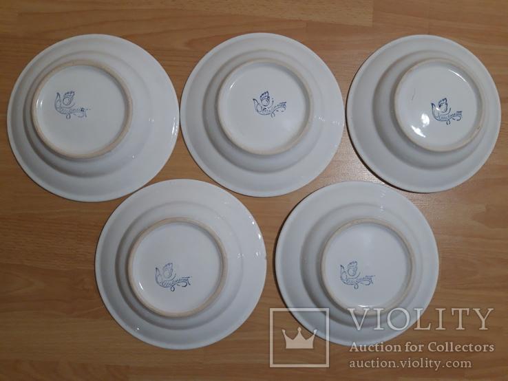 Общепит СССР  тарелка 5 штук, фото №4