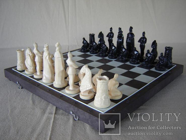 Шахматы воины, фото №2