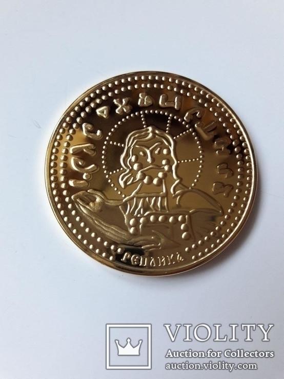 Златник Князя Владимира, Х столетие, реплика, сертификат, фото №4