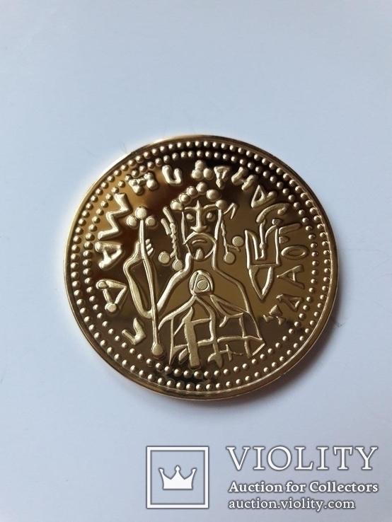Златник Князя Владимира, Х столетие, реплика, сертификат, фото №3