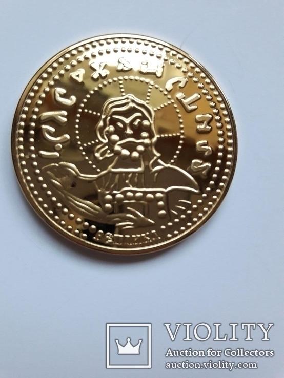 Златник Князя Владимира, Х столетие, реплика, сертификат, фото №2