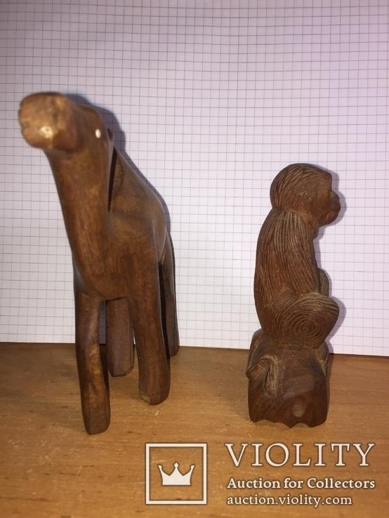 Обезьяна, верблюд, фото №3