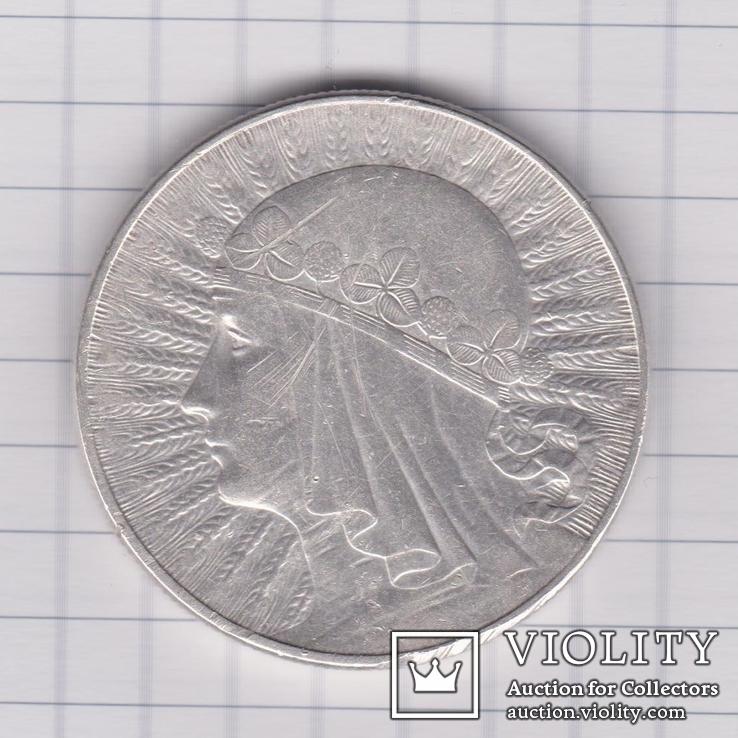 10 злотых 1932, фото №2