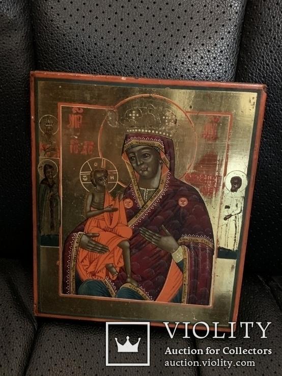 Икона Богородицы О Всепетая Мати, фото №2
