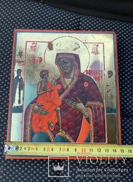 Икона Богородицы О Всепетая Мати, фото №6