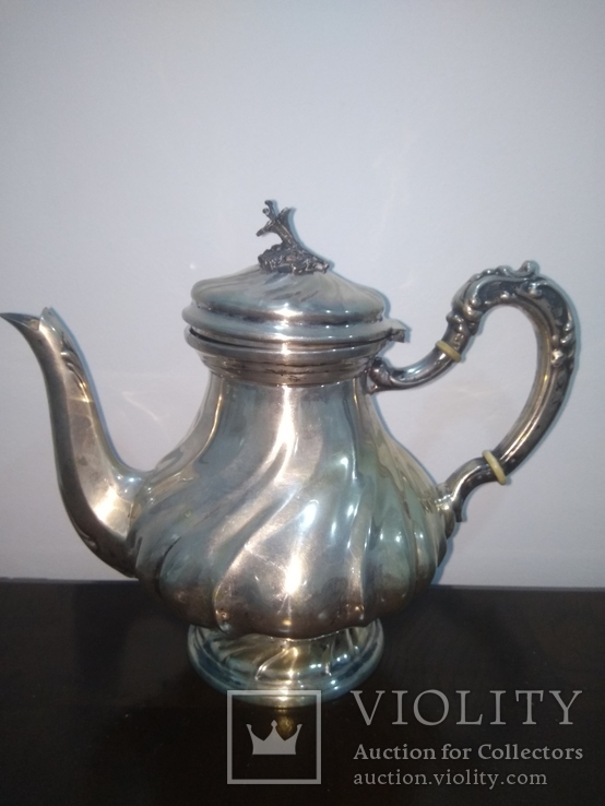 Чайник серебро 800