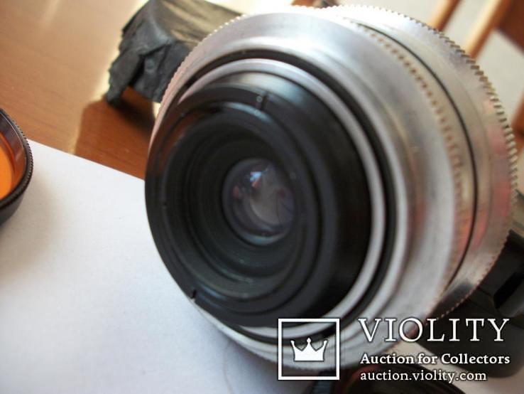Объектив орион-15, светофильтр,крышка м-39, футляр, фото №6