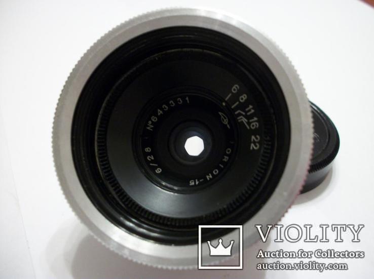 Объектив орион-15, светофильтр,крышка м-39, футляр, фото №7