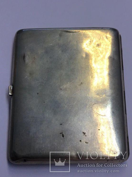 Портсигар Россия, начало 20 века. серебро, золото, фото №4
