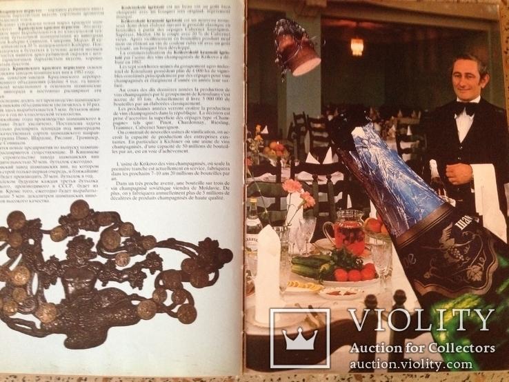 Вина и коньяки Молдавии. На русском и французском языках, фото №6