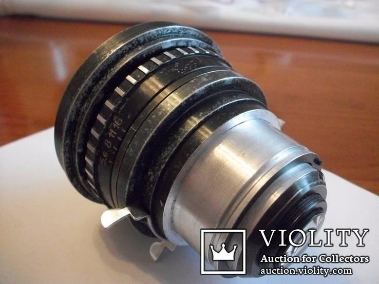 Объектив окс-4-28-1  к кинокамере конвас, фото №3