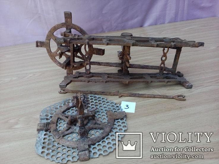 Старинные весы 5 кг на реставрацию, фото №2