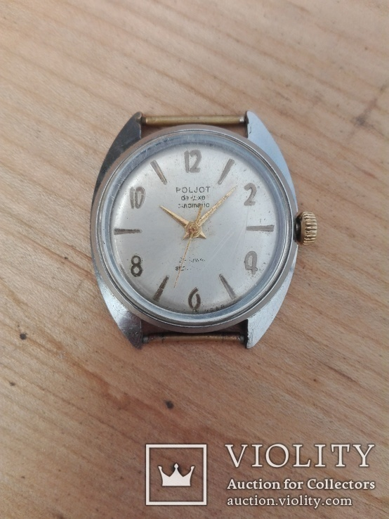 Часы Poljot de luxe 29 jewels automatic made in USSR.