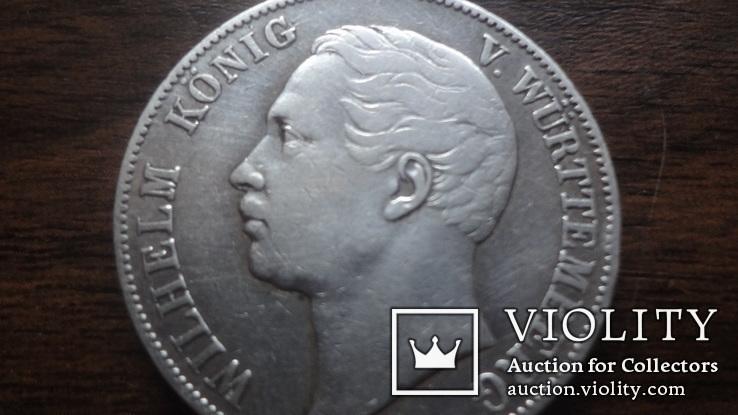 Талер  1863  Вюртемберг   серебро   (Лот.1.24)~, фото №6