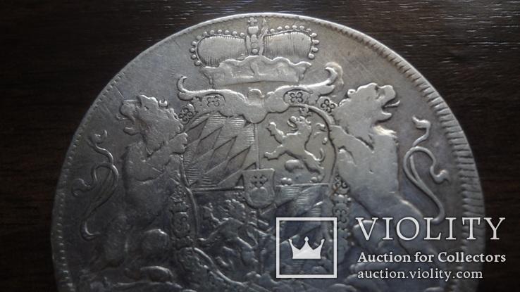 Талер 1755  Бавария  серебро    (Лот.4.8), фото №3