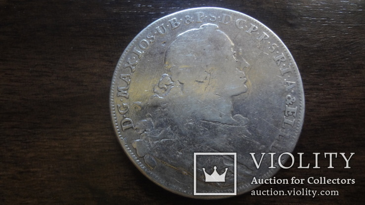 Талер 1755  Бавария  серебро    (Лот.4.8), фото №5