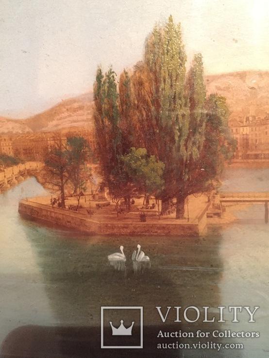 Городской пейзаж, репродукция, фото №9