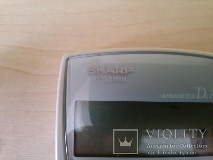 Калькулятор SHARP EL-531WH, фото №7