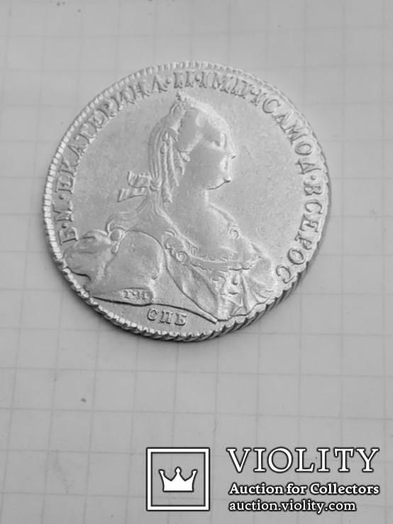 Рубль Екатерины 1776 года т.и  я.ч.