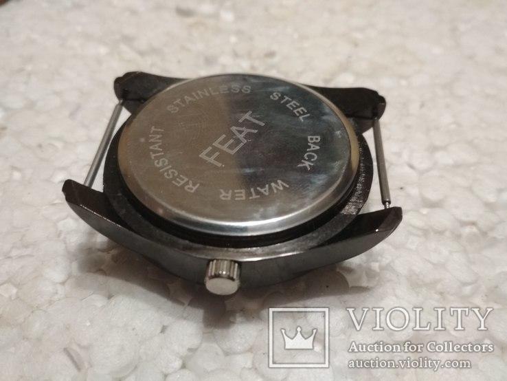 Feat  кварцевые часы, на ходу, но не работает перевод стрелок, фото №5