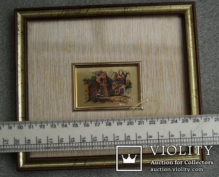 3.Картинка-мініатюрка на позолоті.Італія., фото №5