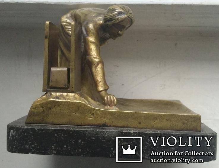 Бронзовый набор. ADOLF POHL (Адольф Поль ) 1872 - 1938 гг. Австрия., фото №4